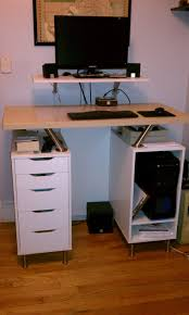 most seen images in the amazing small standing desk design gallery amazing computer desk small