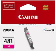 <b>Картридж Canon CLI-481</b> M пурпурный купить в Москве: цена ...