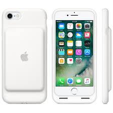 <b>Чехол</b>-<b>аккумулятор Apple</b> Smart Battery Case белый, для <b>iPhone</b> 7 ...