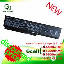 <b>Golooloo 4400MaH</b> PA3534U-1BRS <b>Battery</b> for Toshiba Satellite ...