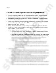 culture in action swidler sociology corse at university soc 101 culture in action symbols and strategies swidler toolkit or repertoire of habits skills and styles from which ppl construct strategies of