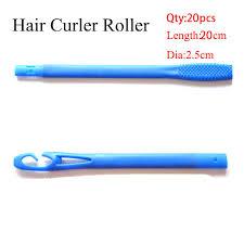 <b>20pcs</b>/<b>set</b> 20cm Plastic Long Diameter 2.5cm Magic Hair Curler ...