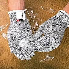 BADASS SHARKS <b>Anti</b>-<b>cut</b> Gloves Safety Cut Proof <b>Stab</b> Resistant ...