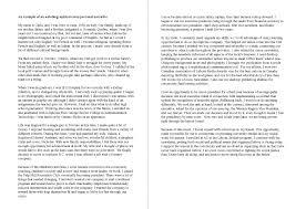 family narrative essay examples
