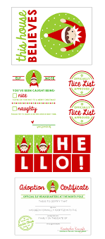 elf on the shelf printable kit pizzazzerie elf on the shelf printable kit including banner adoption certificate banner and