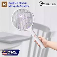 Xiaomi Youpin <b>Qualitell Electric Mosquito</b> Swatter Rechargeable ...