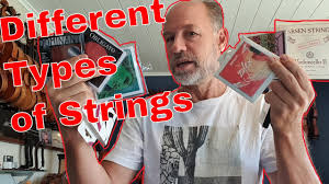 The Violin Studio - <b>Olaf</b> talks about the different <b>types</b> of strings ...