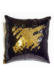 black shiny gold sequin mermaid pillow mermaid pillow co 13 fabulous black bedroom ideas