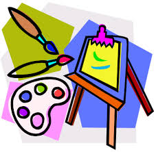 Image result for clip art free art supplies