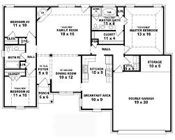 Simple Four Bedroom House Plans    Bedroom One Story House Plans    Simple Four Bedroom House Plans    Bedroom One Story House Plans