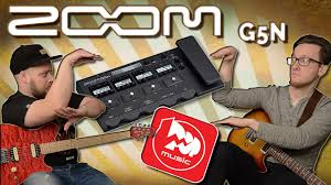 <b>ZOOM G5N</b> - лучший <b>гитарный процессор</b> за малые деньги ...