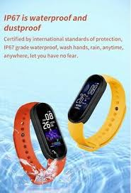 <b>M5 smart watch</b> Bluetooth bracelet sports fitness tracker <b>heart</b> rate ...