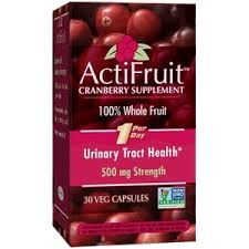 <b>ActiFruit Cranberry</b> Supplement | <b>Cranberry</b> Capsules for UTI