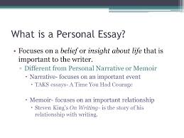 writing prompt for today everyone has problems or challenges to  what is a personal essay focuses on a belief or insight about life that is
