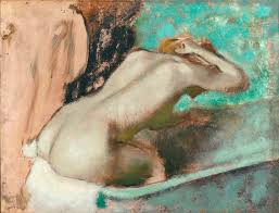 here s looking at edgar degas w seated on the edge of the here s looking at edgar degas w seated on the edge of the bath sponging her neck