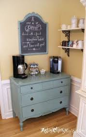 coffee bar built coffee bar makeover