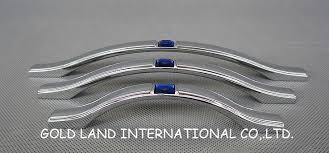 128mm blue crystal glass zinc alloy chrome furniture cabinet handle cabinet hardware gt cabinet pulls gt