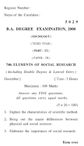 annamalai university ba st year sociology question papers  annamalai university ba 1st year sociology paper