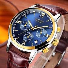 New <b>LIGE Mens</b> Watches Top Luxury Brand <b>Casual Fashion</b> ...