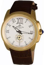 Мужские <b>часы APPELLA</b> AP.<b>4413.01.0.1.01</b> - купить по цене 4667 ...