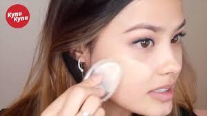 Силиконовый спонж для макияжа - YouTube