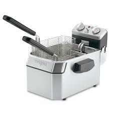 waring wdf1000 countertop electric fryer 1 10 lb vat 120v