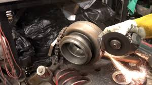 this guy cuts open a <b>brand new turbo</b> what happens next is shocking ...