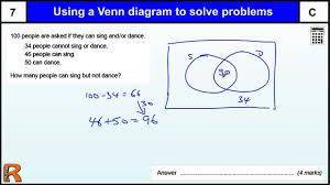 venn diagram to solve problems gcse maths revision exam paper venn diagram to solve problems gcse maths revision exam paper practice