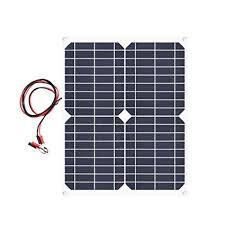 <b>XINPUGUANG 20 Watt</b> 18 Volt Monocrystalline <b>Flexible Solar</b> Panel