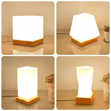 <b>Artpad Nordic</b> Simple Flower Tabletop Light Solid Wood E27 Base ...