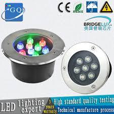 50pc/lot <b>FEDEX</b> UPS TNT <b>DHL</b> 1W LED underground light 9W ...