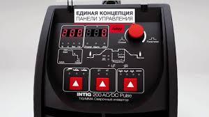 Обзор <b>Сварочный аппарат FUBAG INTIG</b> 200 AC/DC PULSE ...