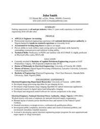 click here to download this electrical engineer resume template    a resume template for an electrical engineer  you can   it and make it your