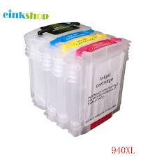 einkshop Brand for hp 940 940xl <b>Empty Refillable Ink Cartridge</b> With ...