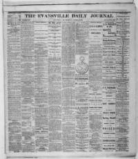 Evansville daily journal. (Evansville, Ind.) 1863-1866, January 25 ...