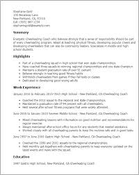 professional cheerleading coach templates to showcase your talent    resume templates  cheerleading coach
