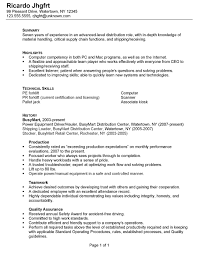 resume skills warehouse   cover letter exampleresume skills warehouse warehouse worker resume sample job interview career guide resume then sent it to