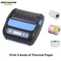 issyzonepos barcode thermal label printer