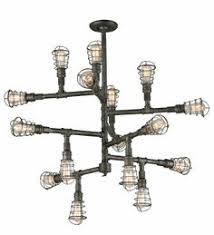 the troy lighting conduit f3818 is a restoration vintage two tier chandelier the maze antique industrial lighting fixtures
