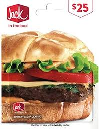 Jack in the Box Gift Card $25: Gift Cards - Amazon.com