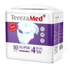 <b>Подгузники</b> д/взр. <b>TerezaMed</b> Super <b>Extra Large</b> 120-160см N10 ...