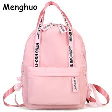 Menghuo <b>Large Capacity Backpack Women</b> Preppy School Bags ...