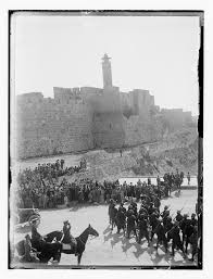 the british in jeru m the imagined city bull essays capture and occupation of by british british troops on parade at jaffa gate