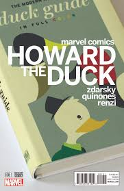 Chip Zdarsky steps into a writers role with Howard the Duck and. Chip Zdarksys variant cover for Howard the Duck No. 1.