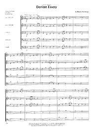 dorian essay by del borgo e j w pepper sheet music del borgo e kendor music inc