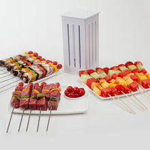 itop kebab maker brochette express skewers spiedini shish for 64 bbq grill accessories tools set