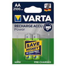 <b>Аккумулятор Varta</b> АА 2100 мАч, 2 шт. - купите по низкой цене в ...