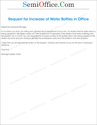 water increase letter request to gm png