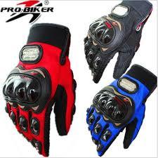 PRO BIKER <b>Professional Sport Motorcycle Gloves</b> Men Protect ...