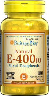 Puritan's Pride Vitamin <b>E</b>-<b>400</b> iu <b>Mixed</b> Tocopherols <b>Natural</b> ...